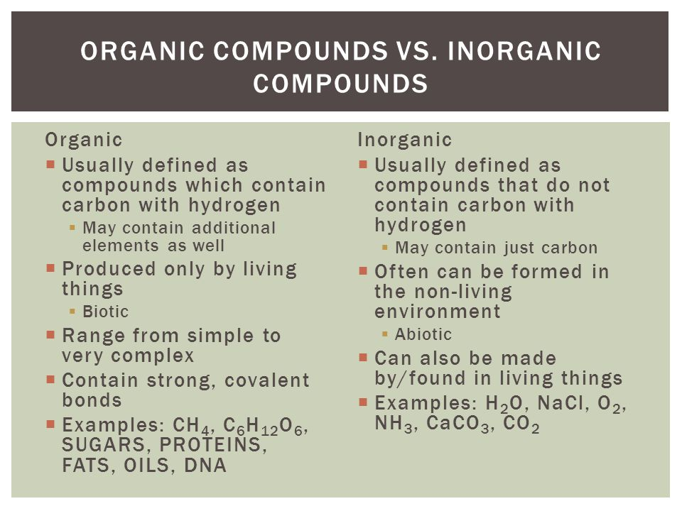 Organic vs. Inorganic Growth