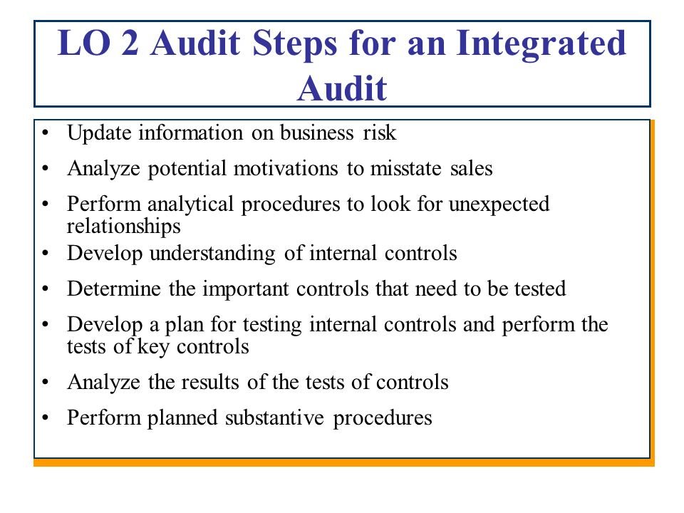 chapter 10 auditing revenue and related accounts