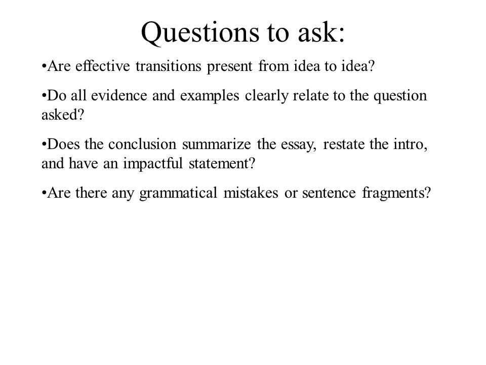 how long should an essay question answer be A strong essay question answer should provide a provided your answer is long this version of how to write a good answer to exam essay questions.