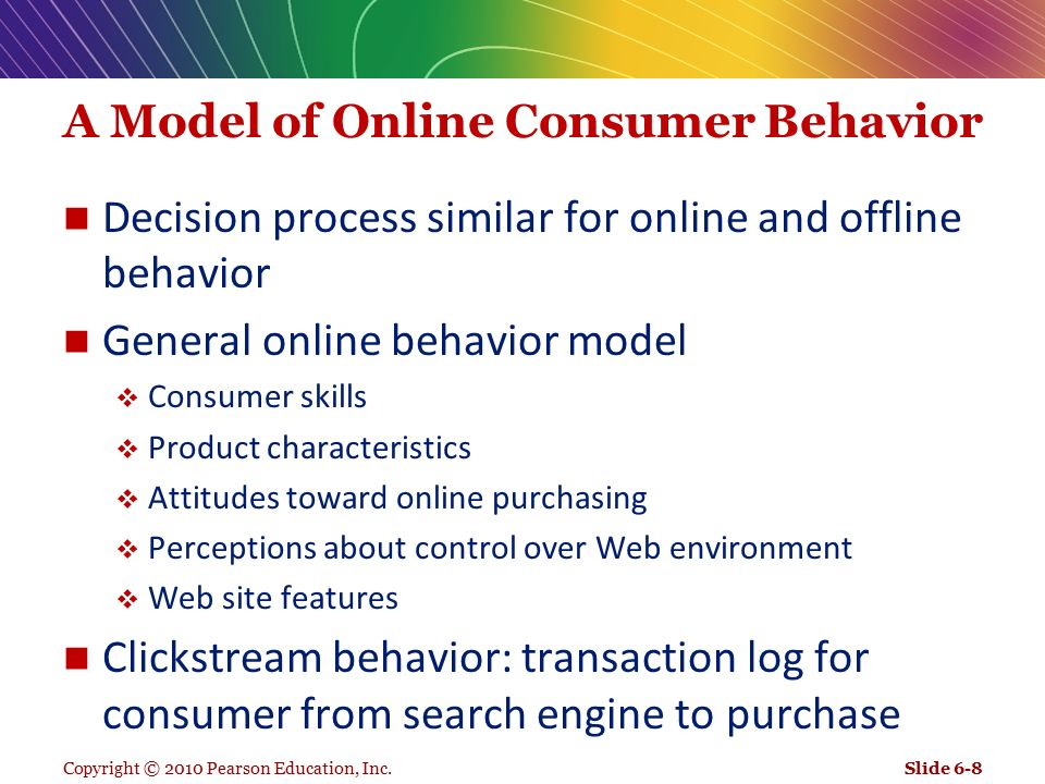 online consumer behaviors Consumer behavior read the latest research on what motivates people to buy, how brand names affect the brain, mindless autopilot through decision-making and more.