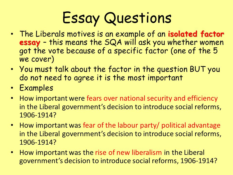 How Important were The Liberal Social Reforms?