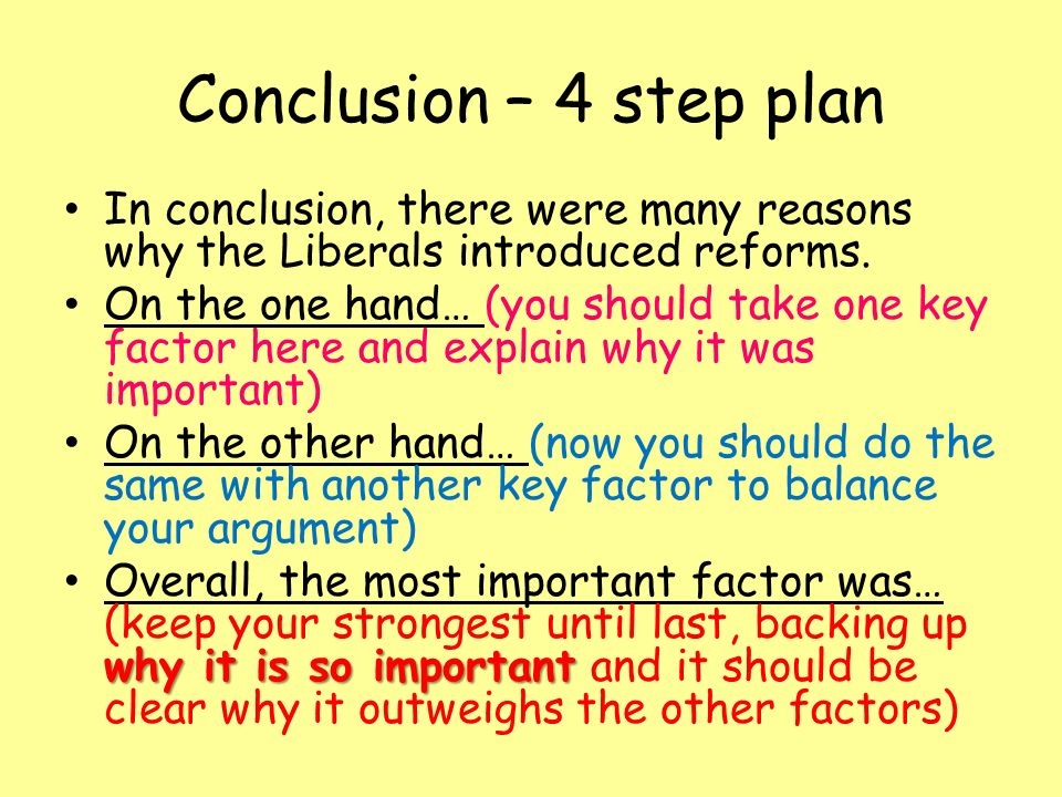 why did the liberals introduce reforms There are many reasons why the liberals introduced reforms my first and in my opinion, most important reason why the liberals introduced reforms was the politically motivated, political.