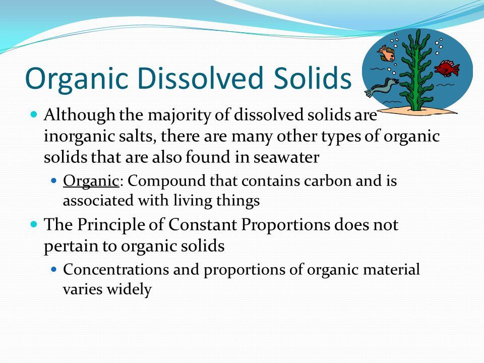 Organic Dissolved Solids