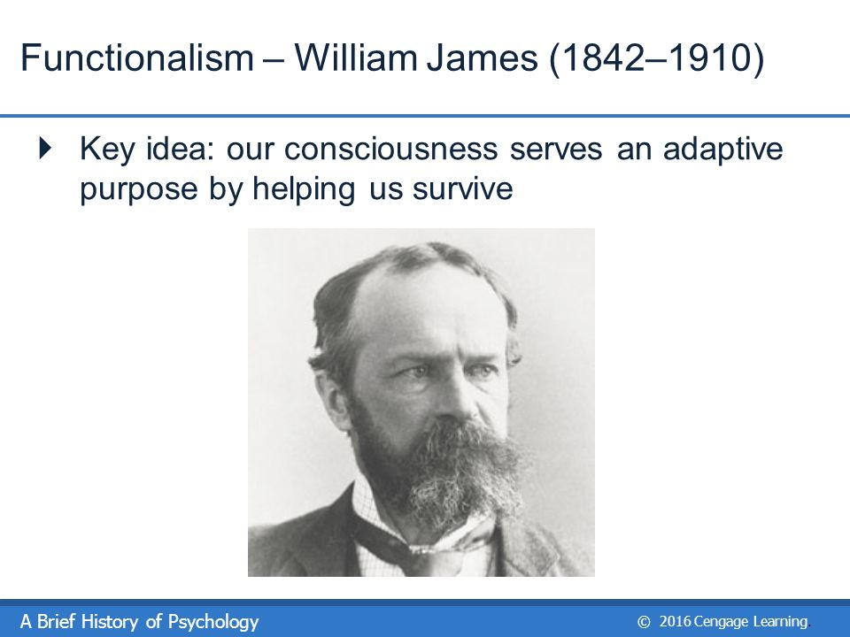 william james functionalism