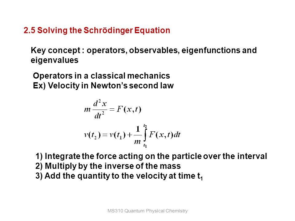 Quantum Mechanics Chemistry – Billy Knight