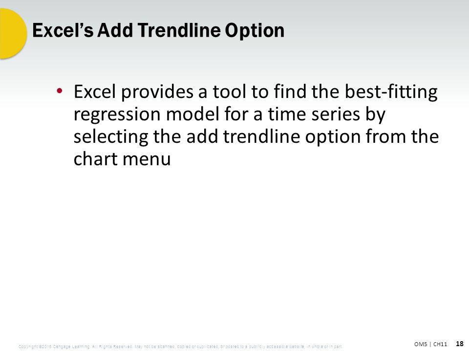 how to add trendline in excel online mac