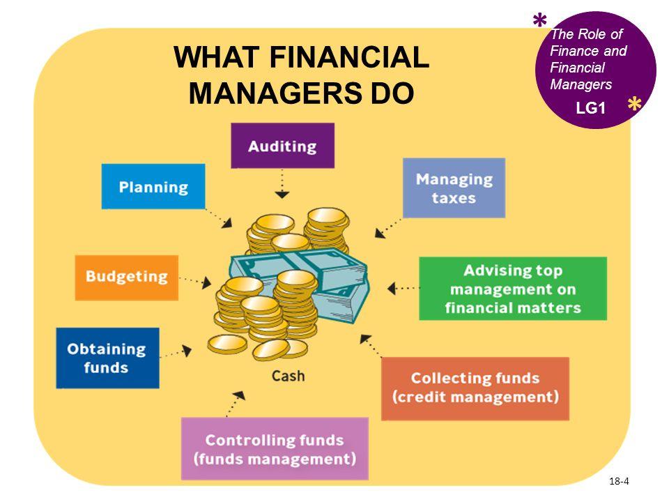 financial manager duties