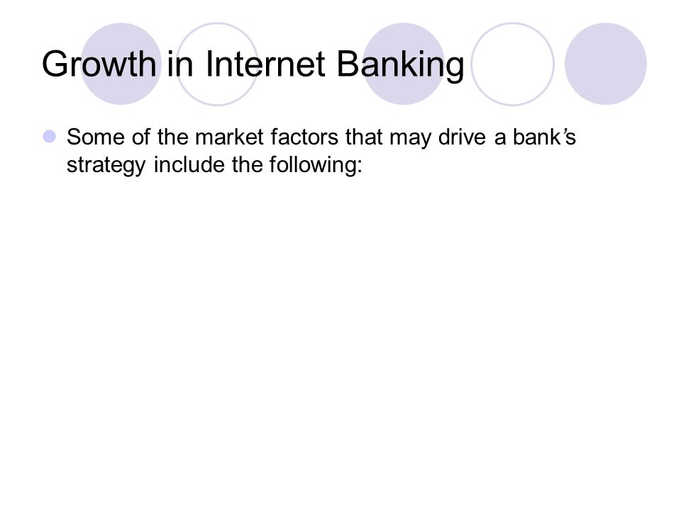 Growth in Internet Banking