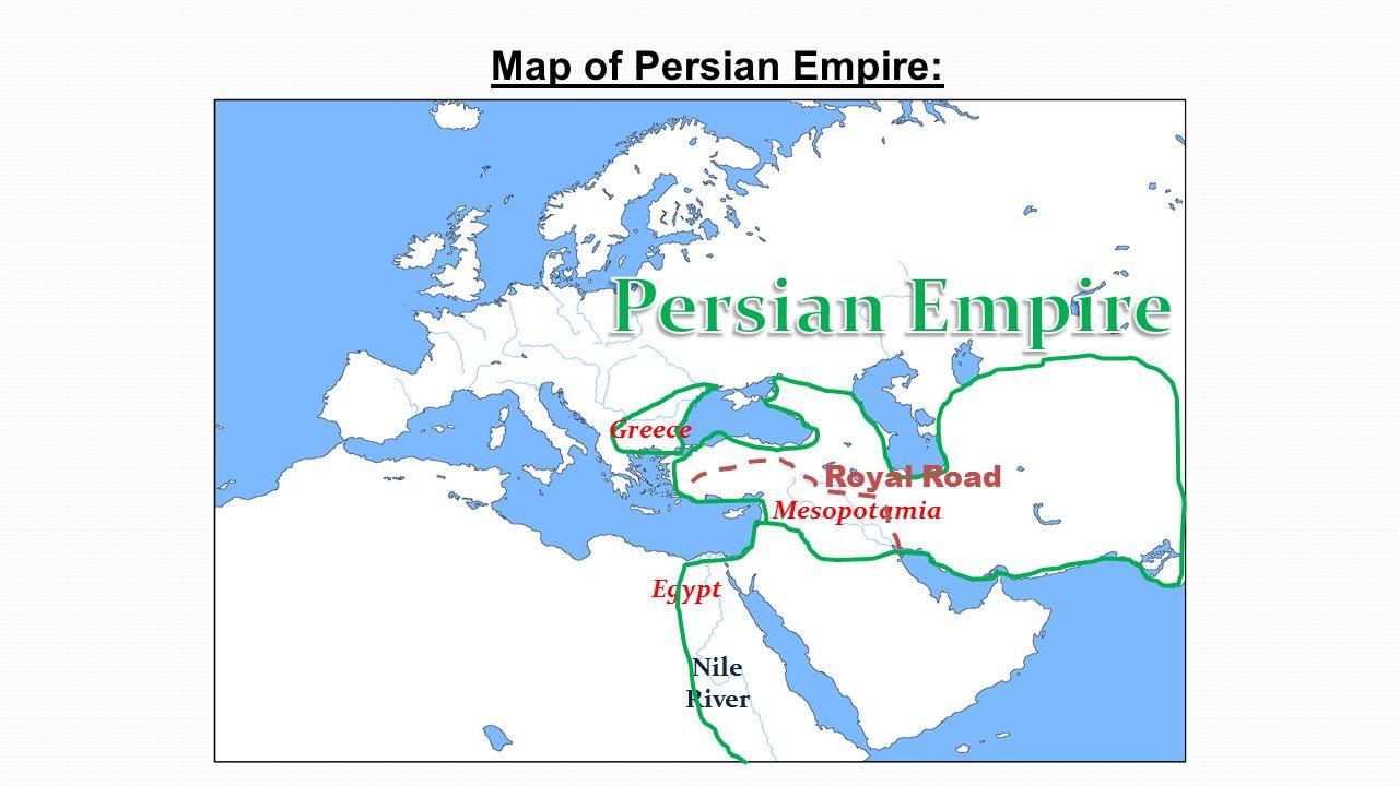 The Persian Empire Who Were The Persians Where Did They Originate - Persian empire map