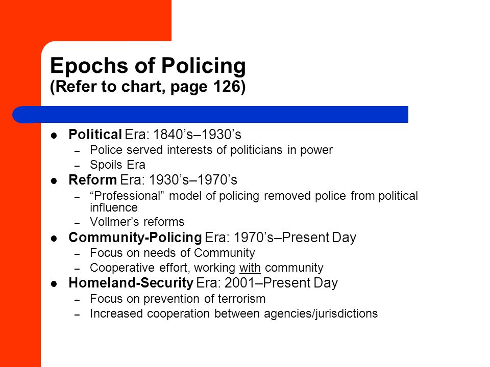 quasi military style of policing Chapter fourteen: police organizations lecture outline i introduction ii the quasi-military style of police organizations a resemble the military in several respects 1.