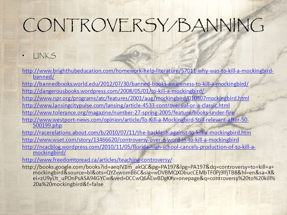 An overview of the controversy around banning books