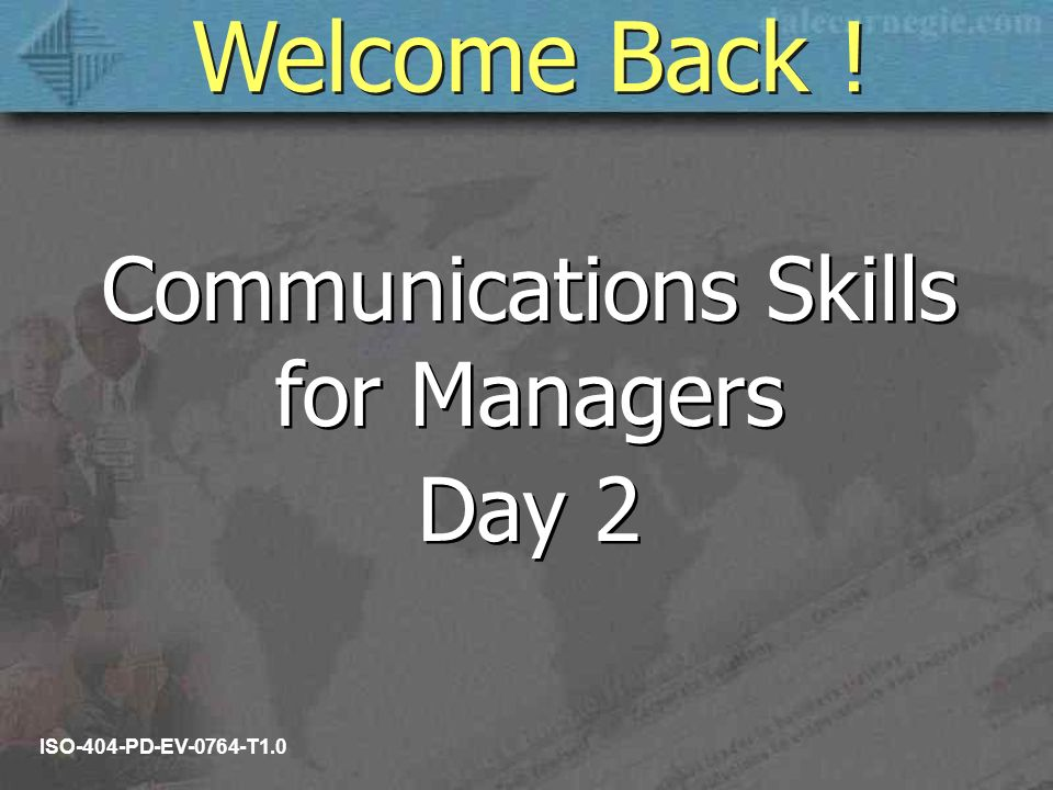 communication skills for managers