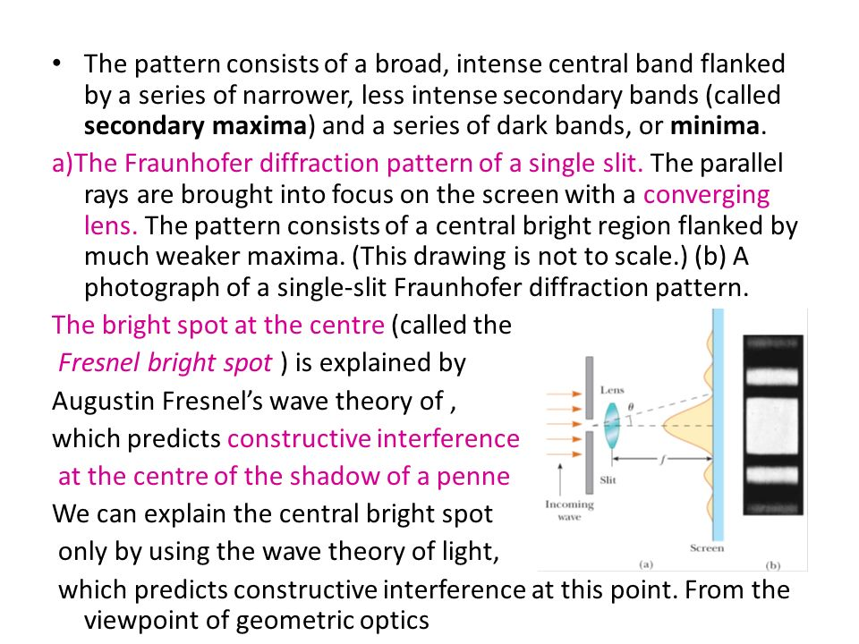 introduction to interference and diffraction 2010-7-14 diffraction & interference introduction in 1704, sir isaac newton postulated a theory that light is made up of particles after all, a picture of light.