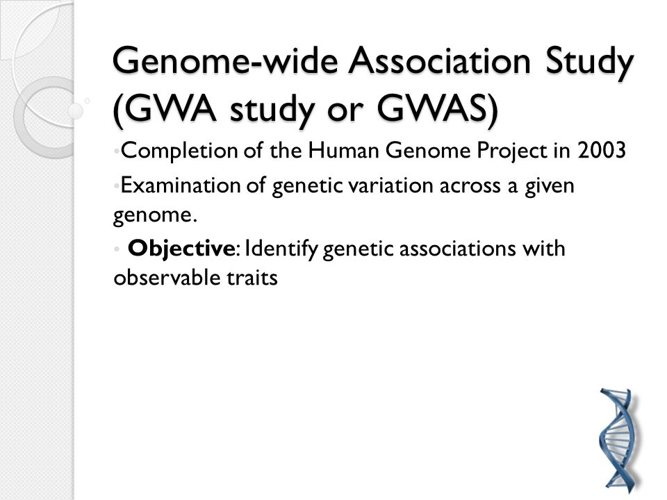 Genome-wide association studies in plants: the missing ...