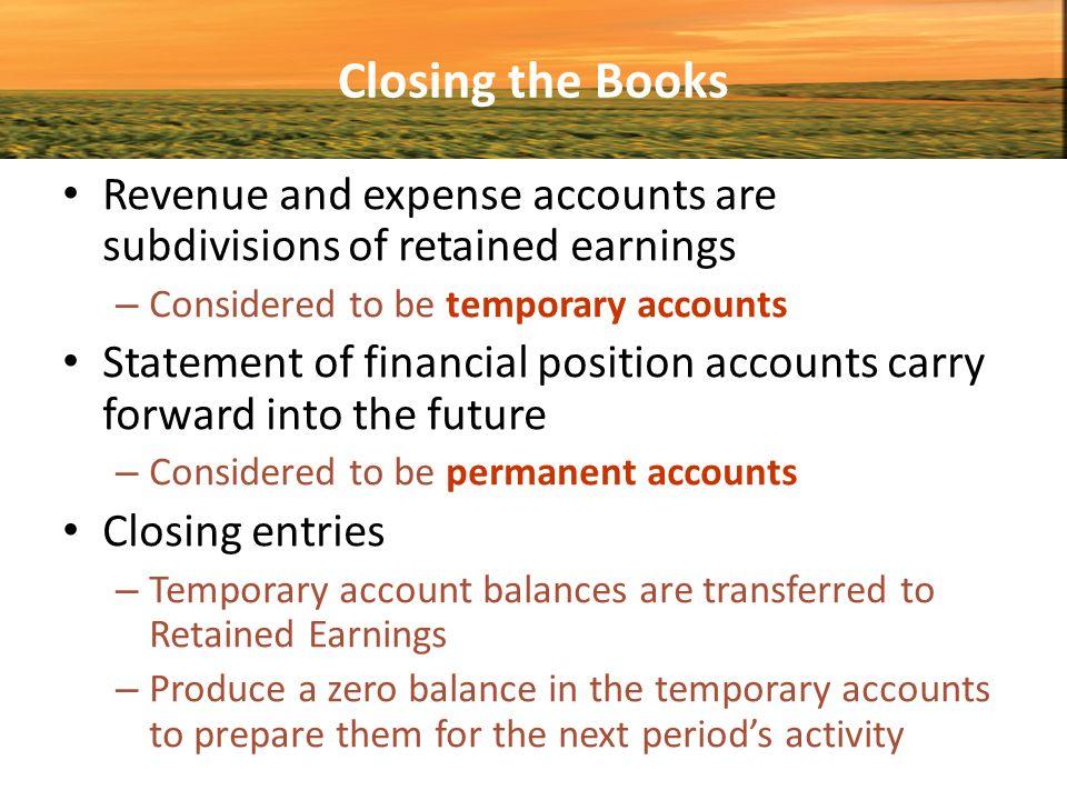 how to close revenue accounts