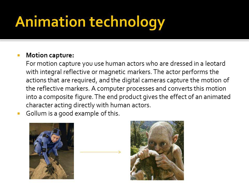 Animation technology