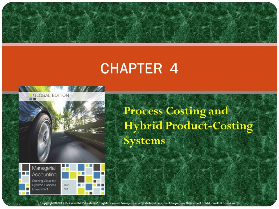 products costing system Product costing is a methodology associated with managerial accounting, ie, accounting intended to serve management in an operational context rather than to measure corporate performance as such, although, of course, any kind of cost accounting, including product costing, contributes to overall results.