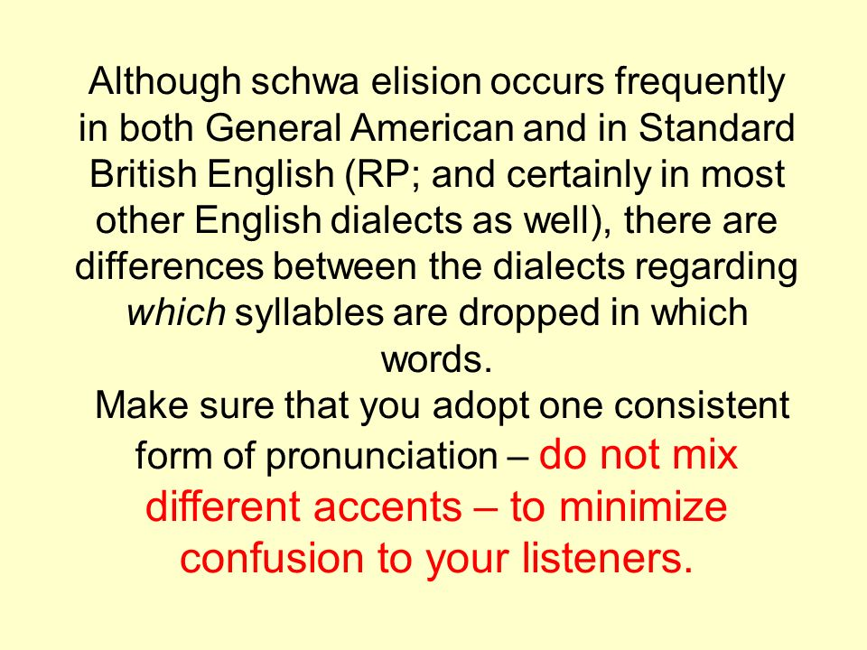 Elision is an important area in listening skills, as learners are ...