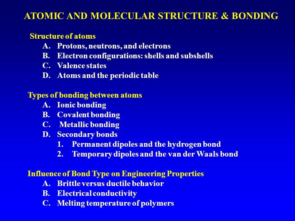 ATOMIC AND MOLECULAR S...