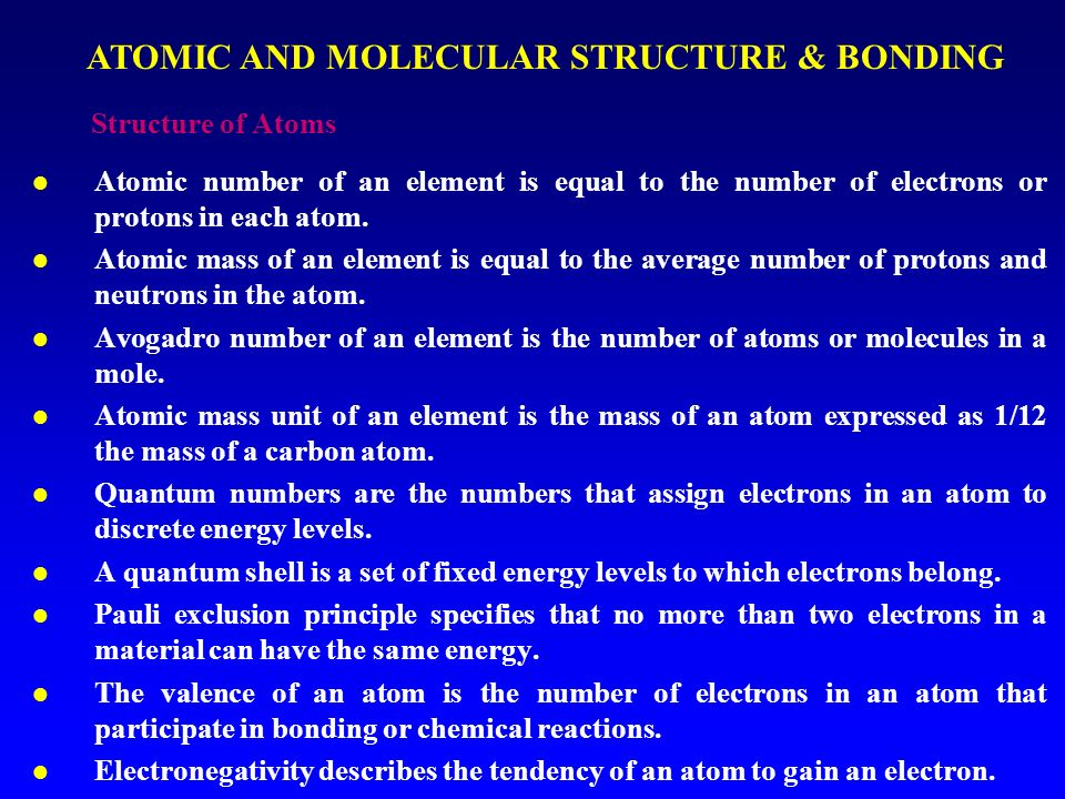 atomic and molecular structure Molecular geometry or molecular structure is the three dimensional arrangement of the atoms that constitute a molecule inferred from the.