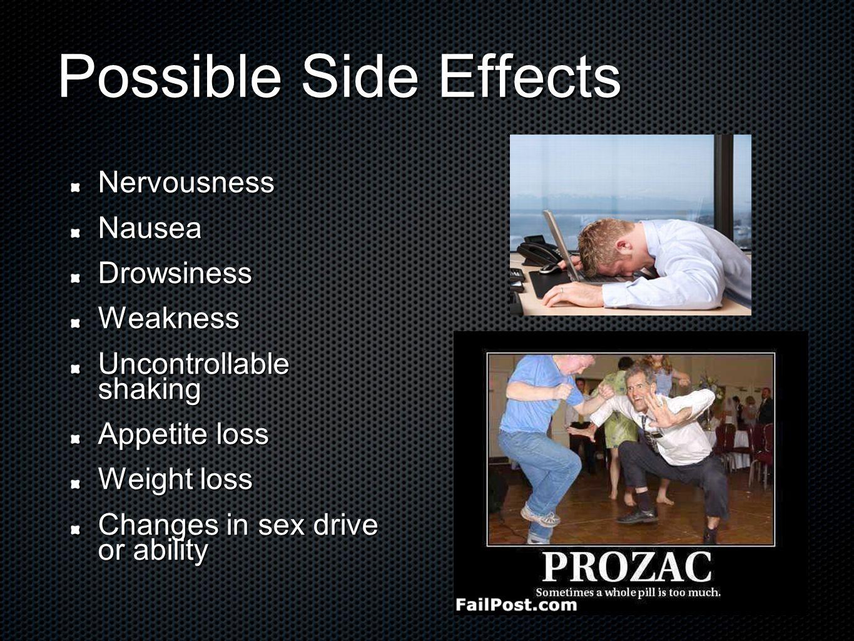 Sideffects Of Prozac
