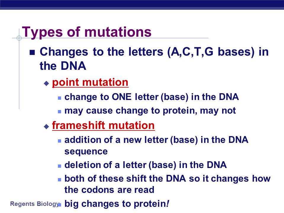 types of mutations - Vaydile.euforic.co