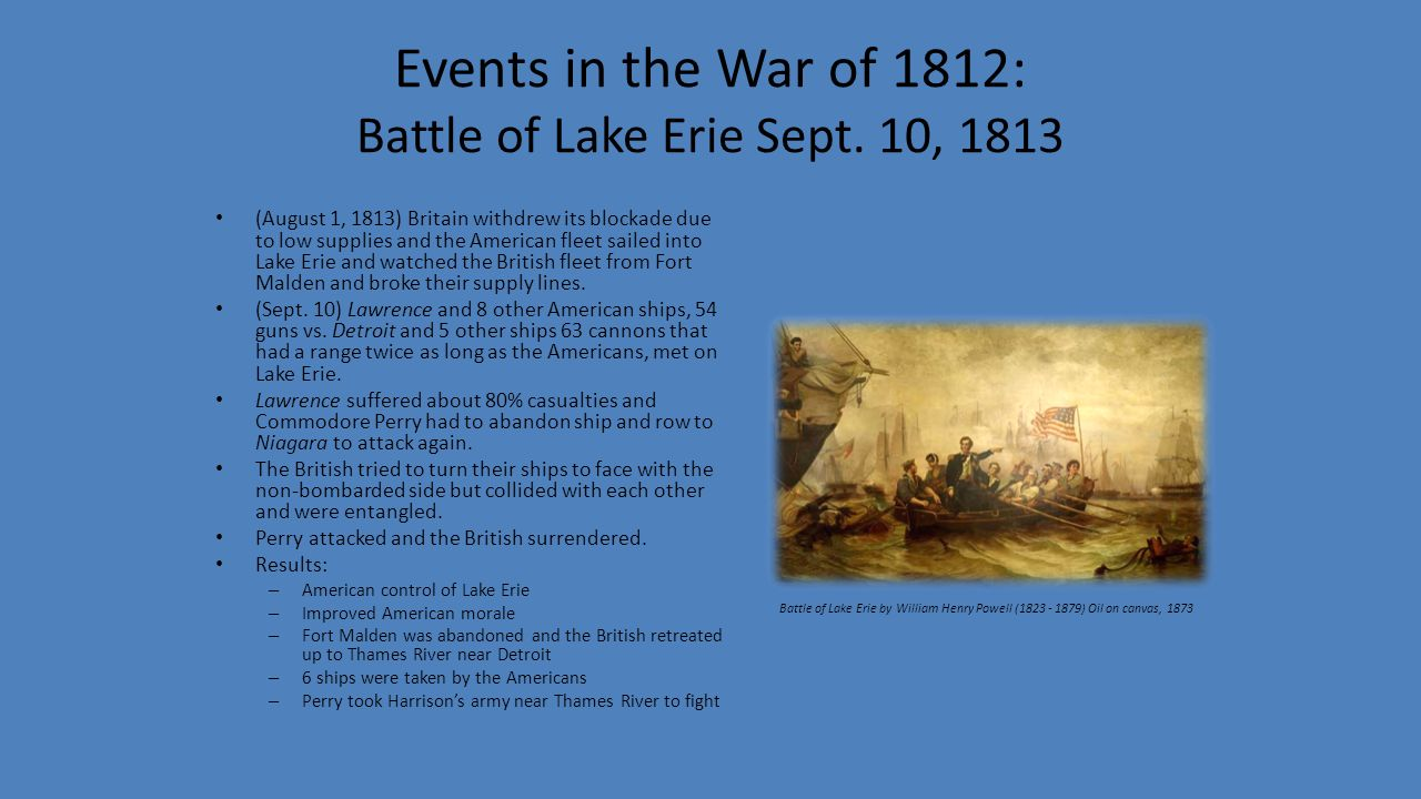 long term results of war of 1812 It is difficult to overstate the long-term ramifications of the expedition  after the  war of 1812, the trade was renewed with the advent of the mountain man period .