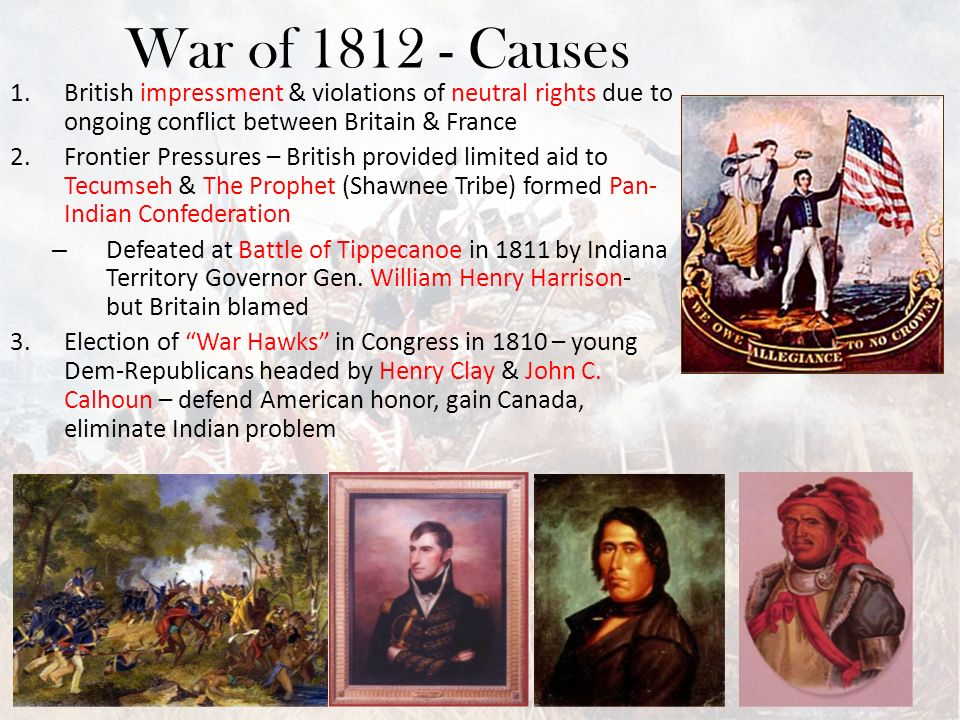neutral rights and the war in War of 1812: united states wages war  neutral rights violations did not stop with british and french maritime policies.