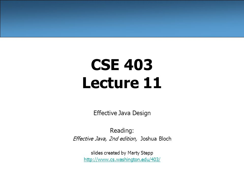 Effective Java Pdf By Bloch
