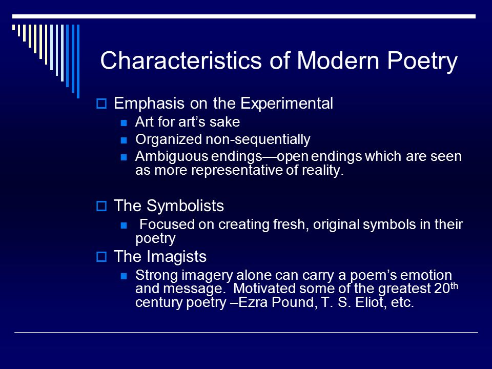 Modernity Poems | Examples of Modernity Poetry