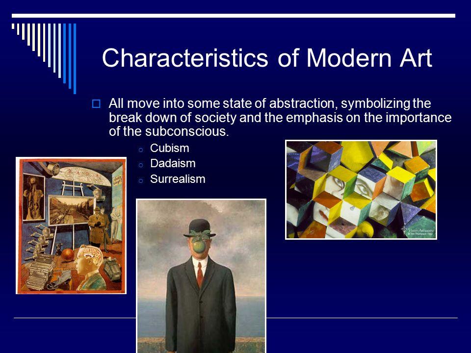 Characteristics Of Modernism In Literature Pdf