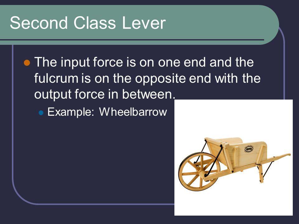 Lever Input And Output Force : Simple machines group mm ppt video online download