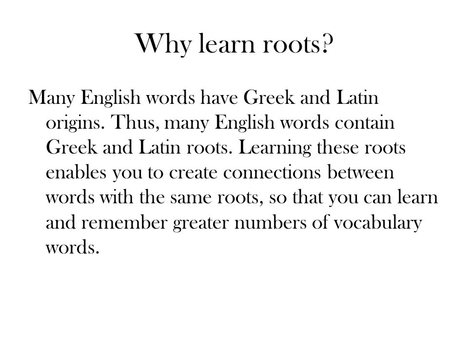 how to learn latin words