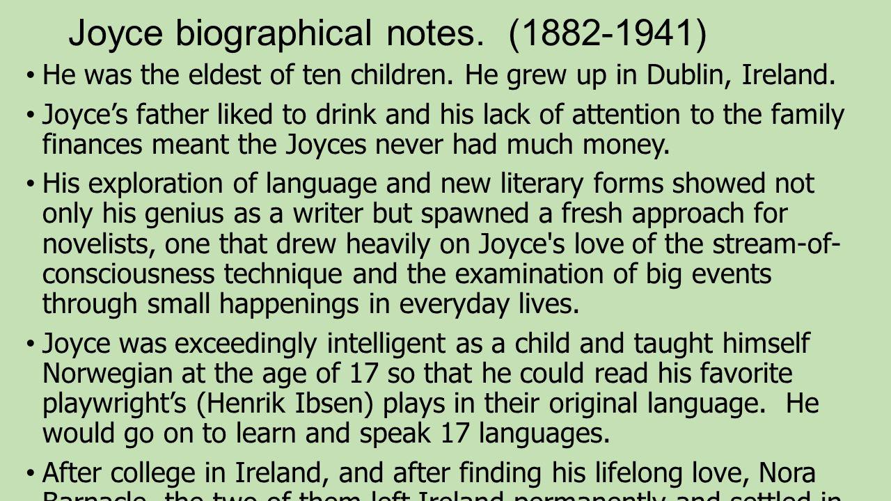 eveline by james joyce summary and analysis