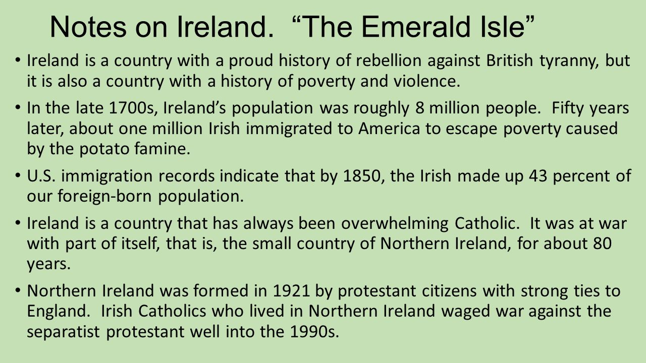 emerald isle single catholic girls Here are some of the most legendary female icons the emerald isle has offered up  top five female irish heroes from history  who single-handedly battled maeve.