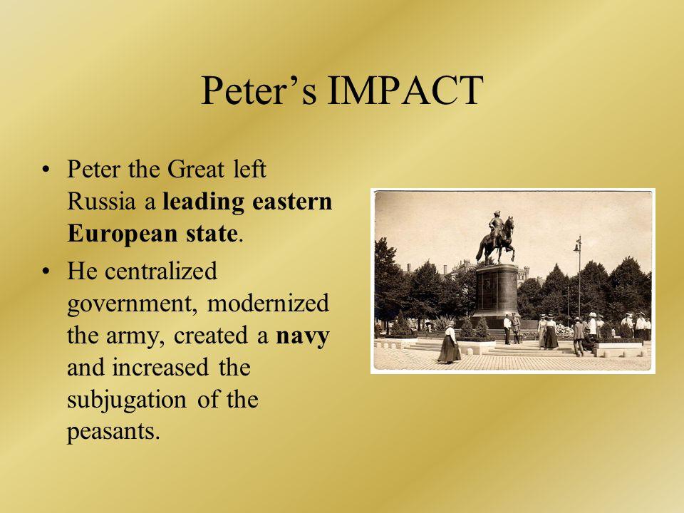 the impact of the absolutist state on modern european civilization As you read about absolute monarchs in europe, notice  the modern european  novel  this marked the beginning of the modern state system and was  ing  produced three other long-term effects that helped shape western civilization.