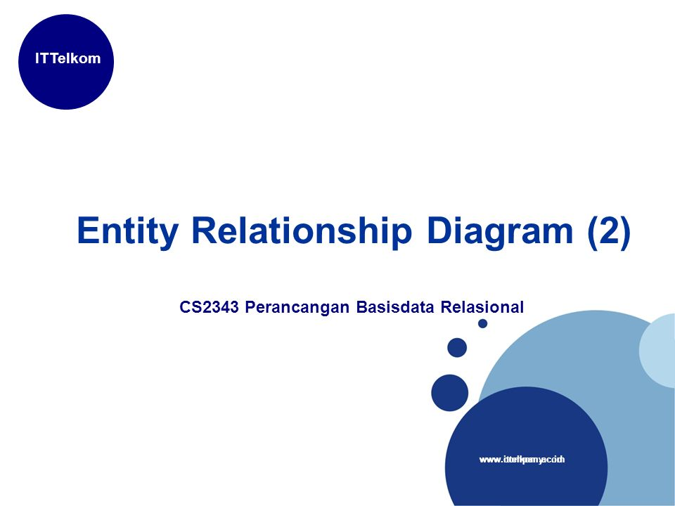 Entity Relationship Diagram   Ppt Download