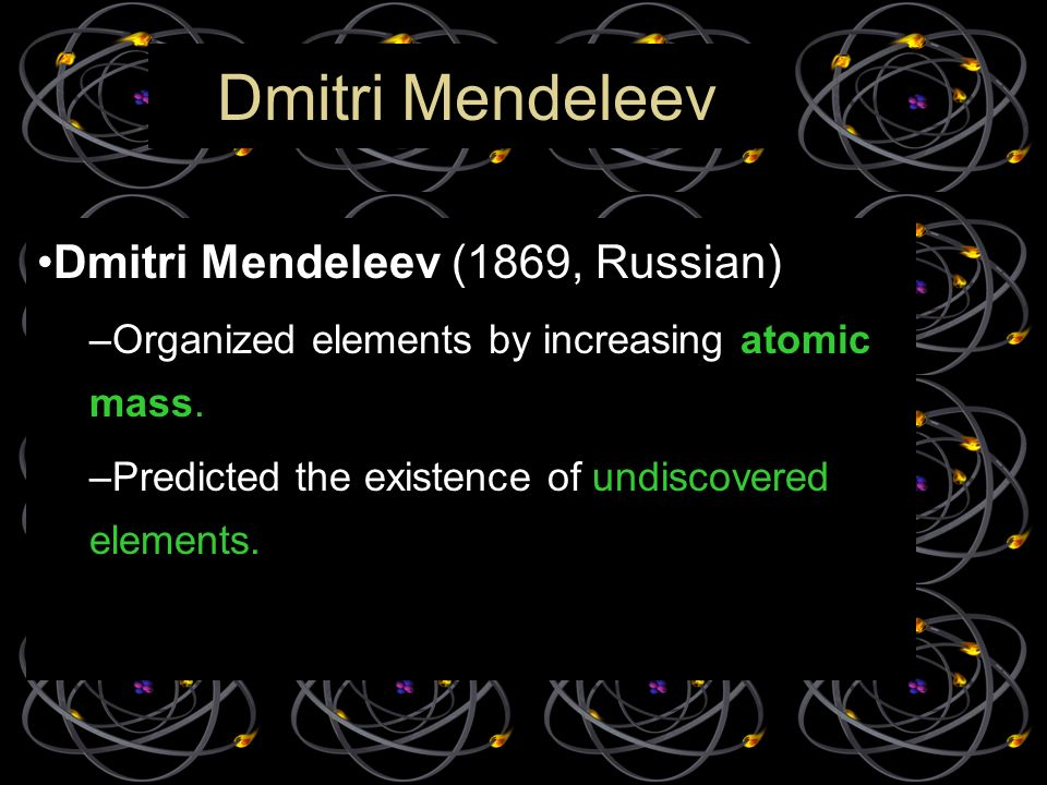 Lesson 3 part the periodic table ppt video online download lesson 3 part the periodic table 2 dmitri urtaz Choice Image