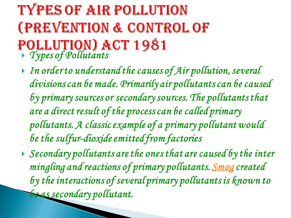 SEMINOR TOPIC IS Air pollution. - ppt video online download