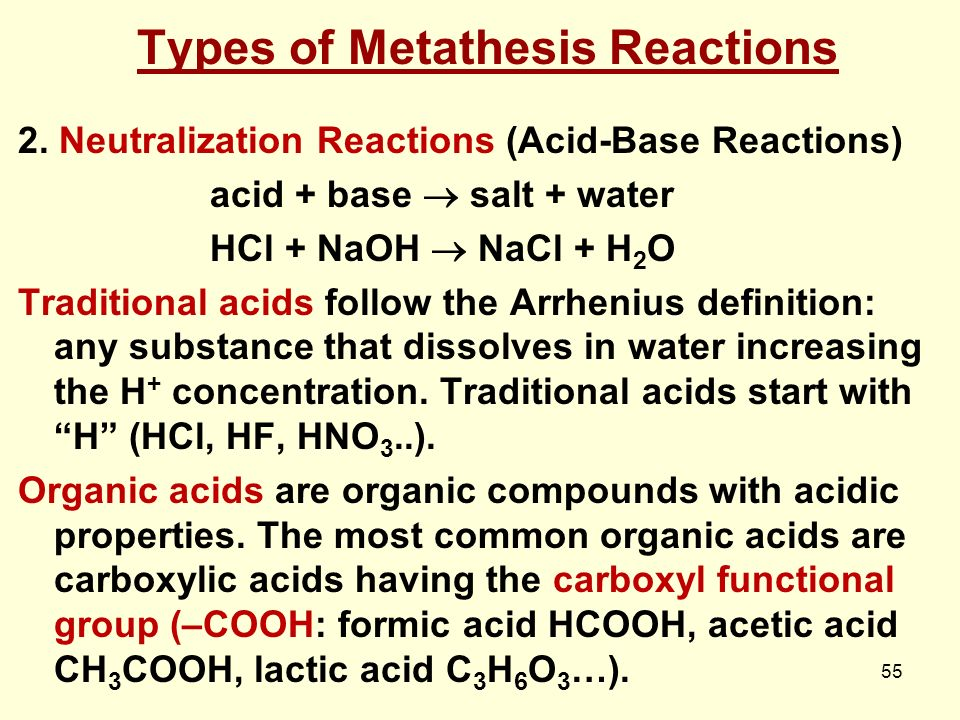 what is metathesis reaction 4 precipitation of an ionic compound is a metathesis reaction agno 3 + nacl → agcl + nano 3 white solid forms a precipitate metathesis reaction = ions change partners.