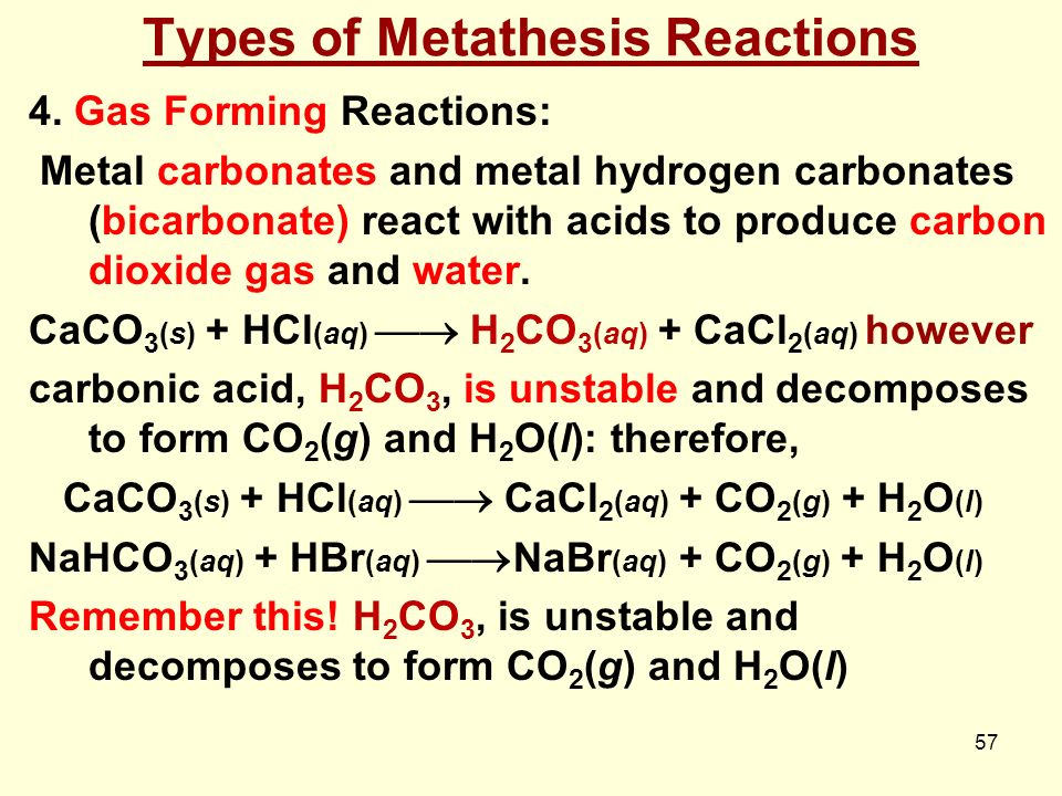essay on chemical reactions 3 give a specific example for each type of chemical reaction make sure the equations are properly balanced.