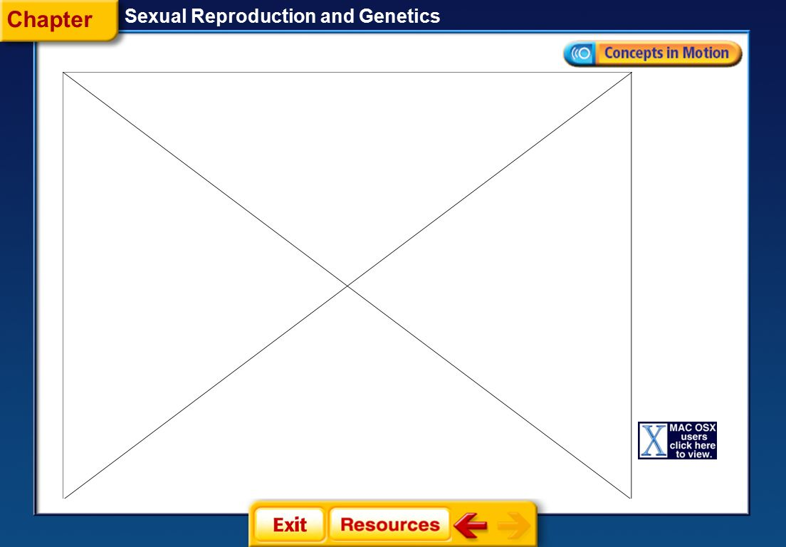 Chapter Sexual Reproduction and Genetics