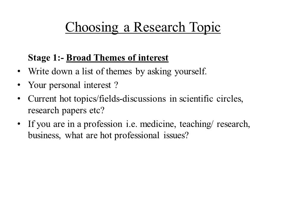 research paper topics related to health