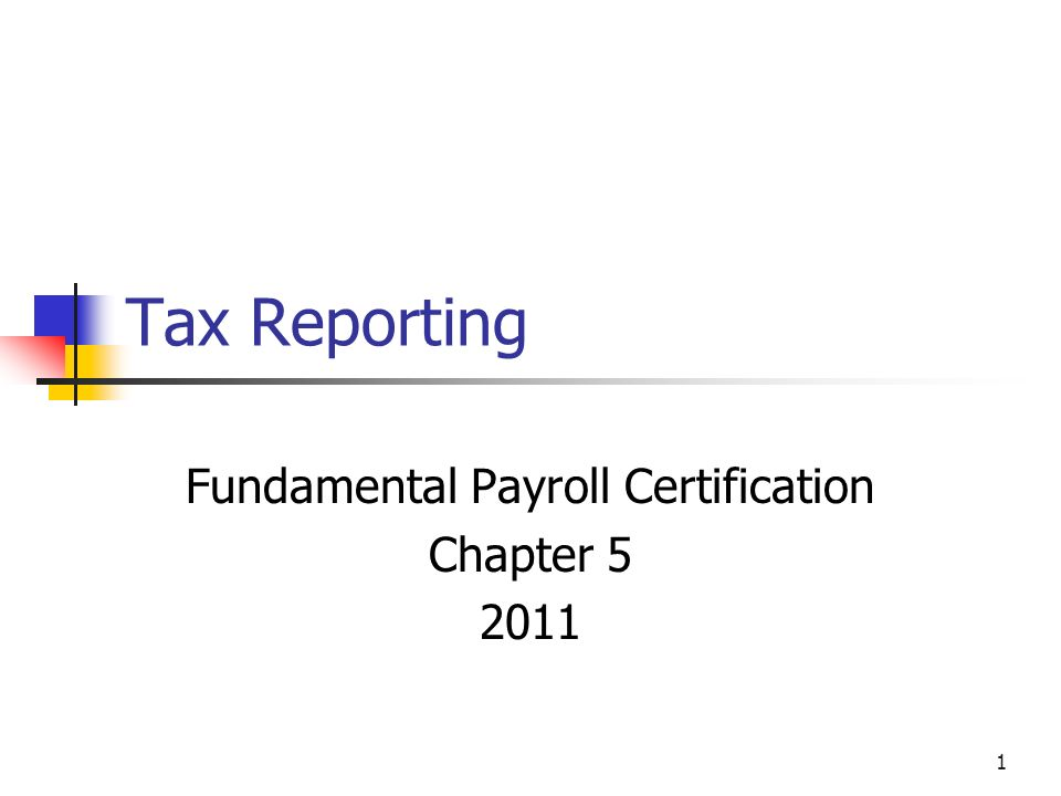 Fundamental Payroll Certification Chapter Ppt Video Online Download