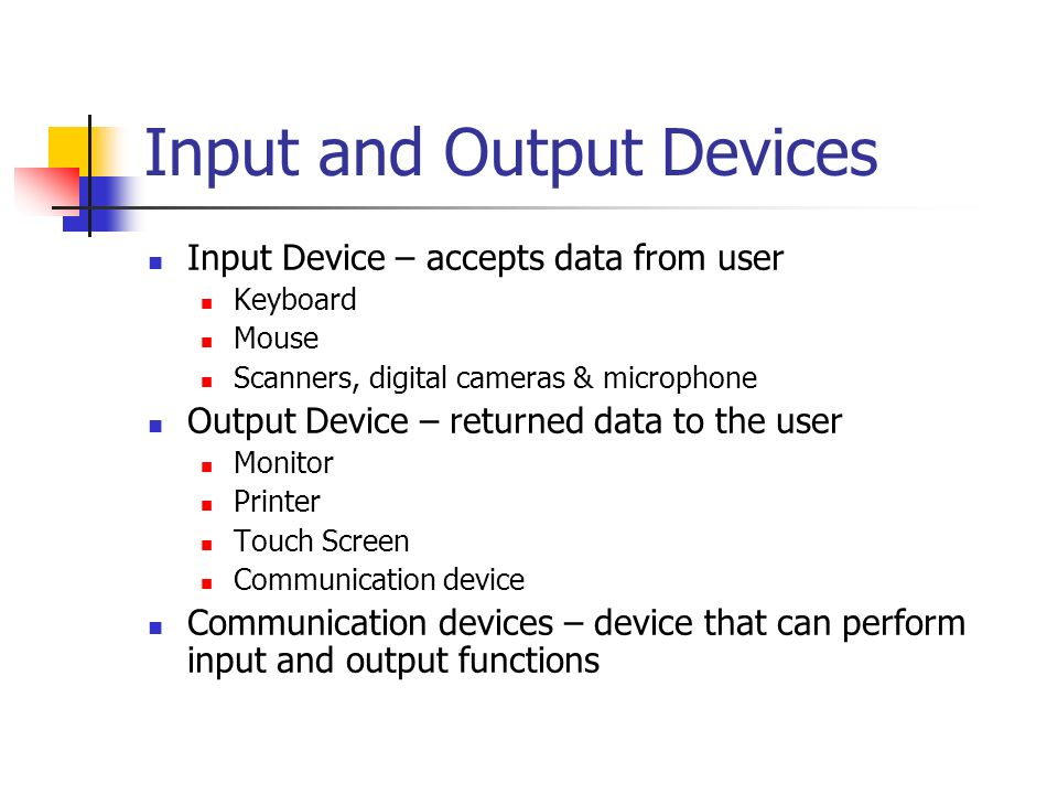 functions of input output devices Develop several universal methods for input/output device  the power of the portable device on display functions, such as a bright sharp display, and leave media .