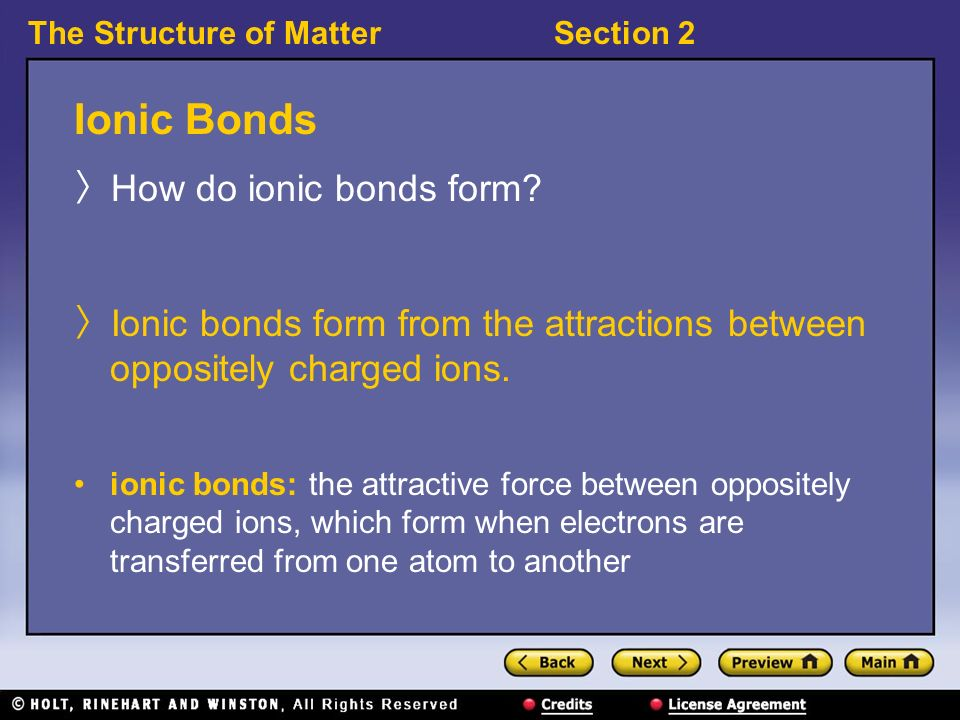Why Do Chemical Bonds Form? - ppt download