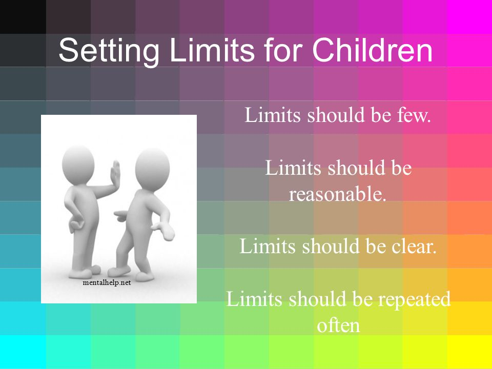 Setting Limits for Children