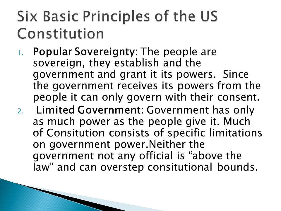 6 basic principles of the constitution essay View notes - constitution from govt 2305 at northwest vista college dadriana keys government 2305 constitution essays 1 there are six basic principles to the.