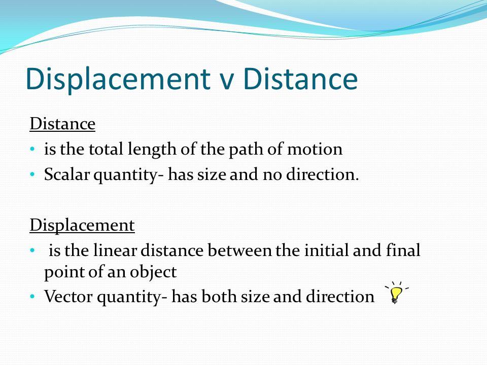 Unit 2D Motion Lesson Distance Vs Displacement ppt download – Distance Vs Displacement Worksheet