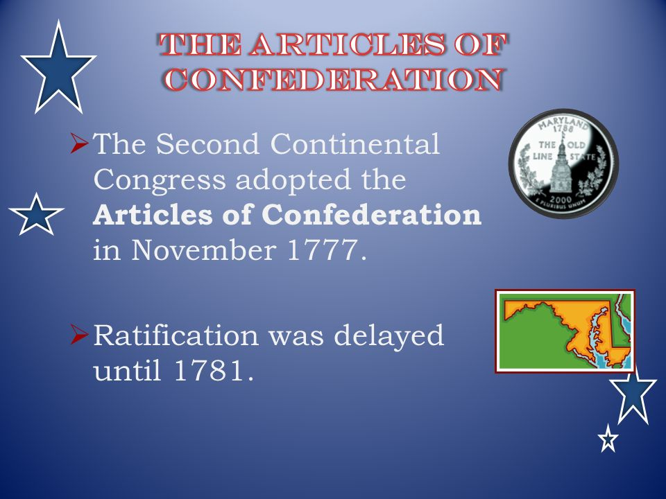 an analysis of the articles of confederation in the second continental congress Get information about the articles of confederation from the dk find a committee was appointed by the second continental congress in june 1776 to create this set.